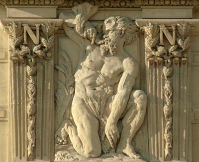 Bas-relief. Nicolas Victor Vilain.