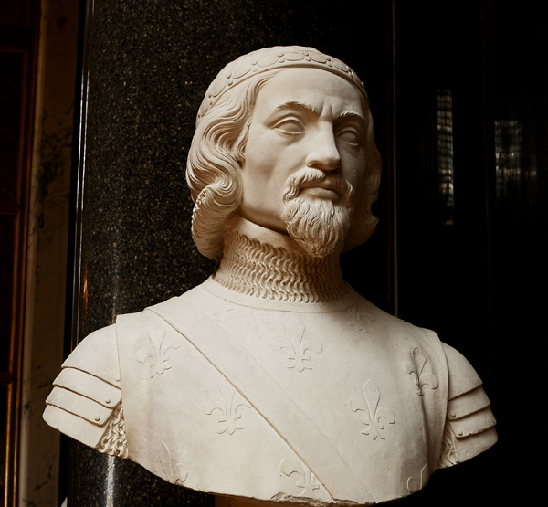 Pierre 1er duc  de Bourbon. Louis Eugène BIon