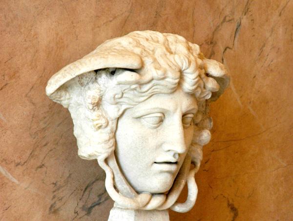 Tête de Méduse. Joseph Chinard.
