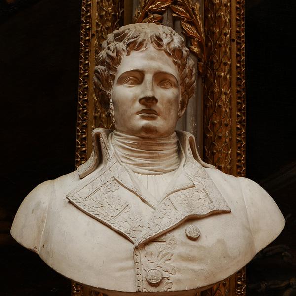Comte de La Coste, général de brigade. D'après Clodion