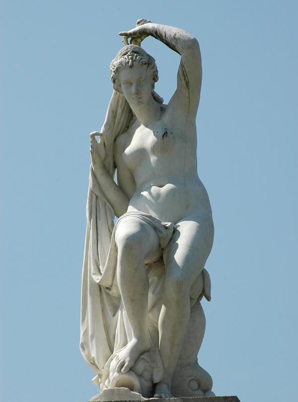 Le Triomphe d'Aphrodite. Charles Cordier.