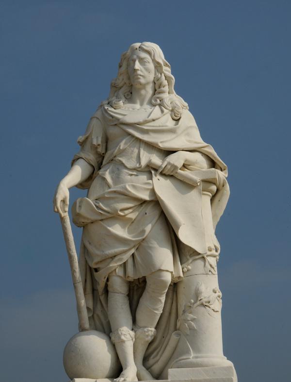 Le Grand Condé. Antoine Coysevox.