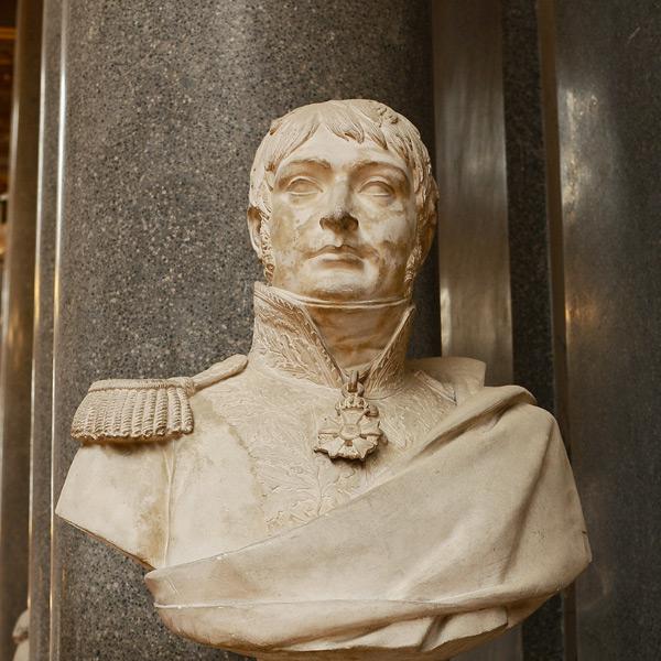 Jacques Desjardins, général de division. Antoine Laurent Dantan