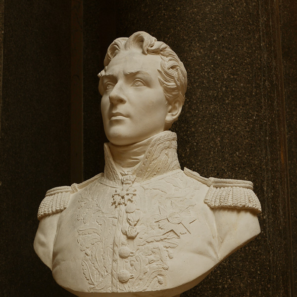 Comte de Sénarmont, général de division. Antoine Laurent Dantan