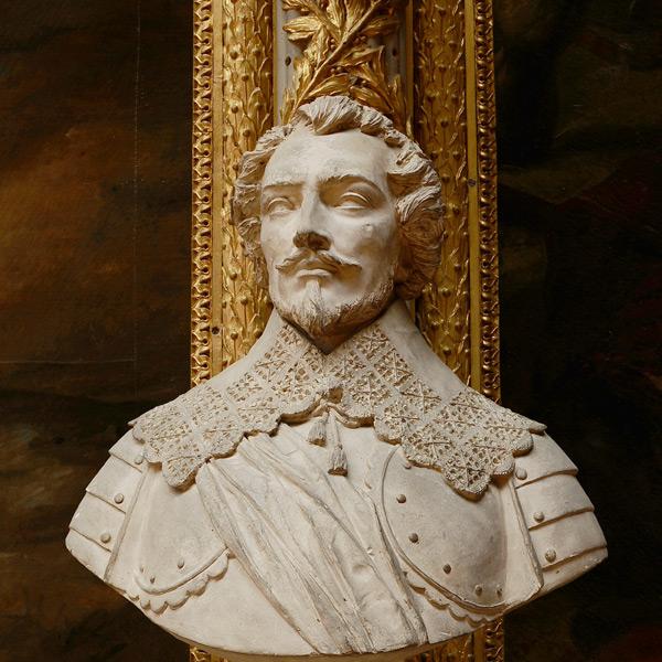 Charles de Créquy, maréchal de France. Jean Pierre Dantan