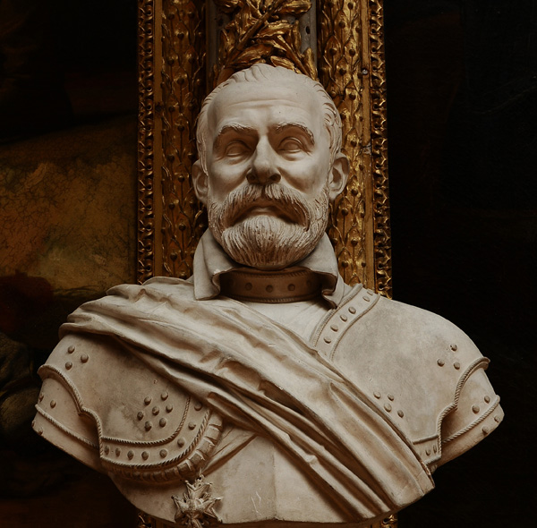 Baron de Biron, maréchal de France. Jean De Bay.