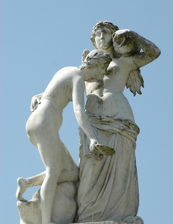 Nymphe des eaux. Antoine Desboeuf.