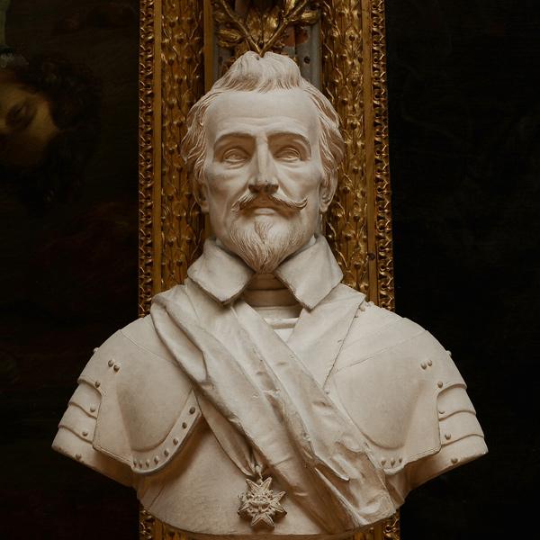 Jean d'Aumont, maréchal de France. Augustin Dumont.