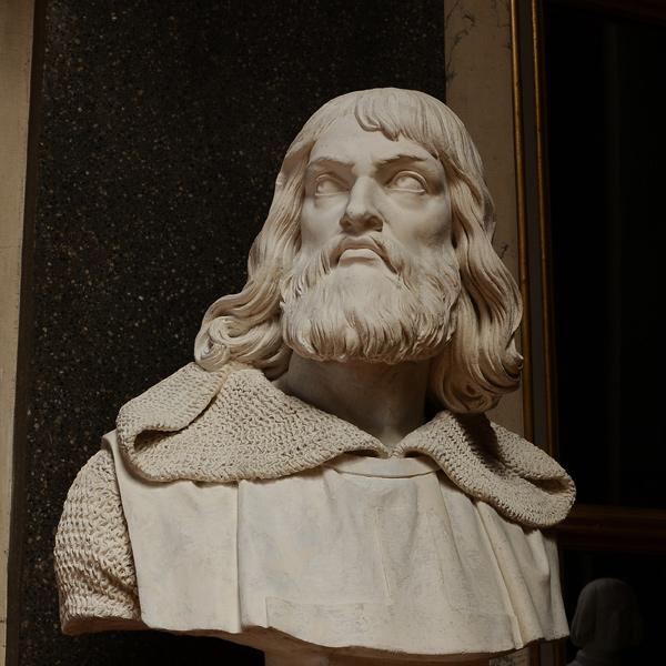 Simon comte de Mongtfort. Jacques Feuchère.