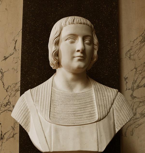 Pierre de France, comte d'Alençon. Jean Jacques Flatters.