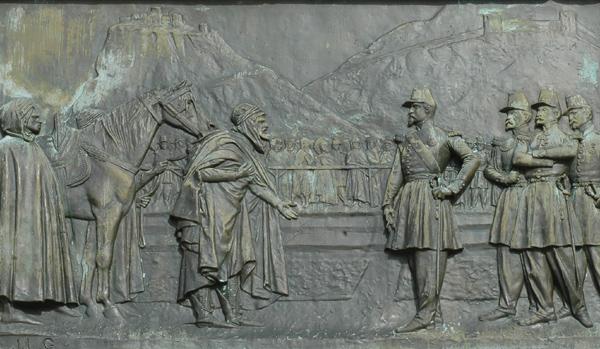 La Soumission d'Abd el Kader. Jean Léon Gérome.