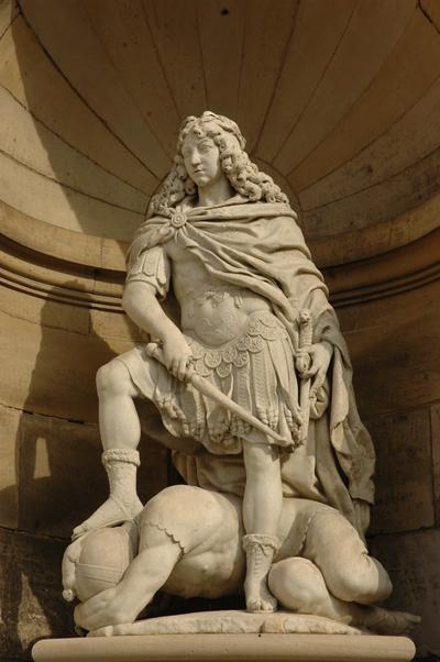 Louis XIV. Gilles Guérin.