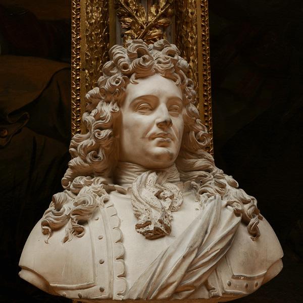 Ferdiand comte de Marsin, maréchal de France. François Jouffroy.