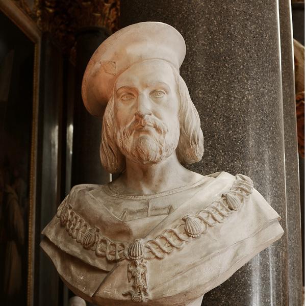 Guillaume Gouffier de Bonnivet, amiral de France. François  Lanno