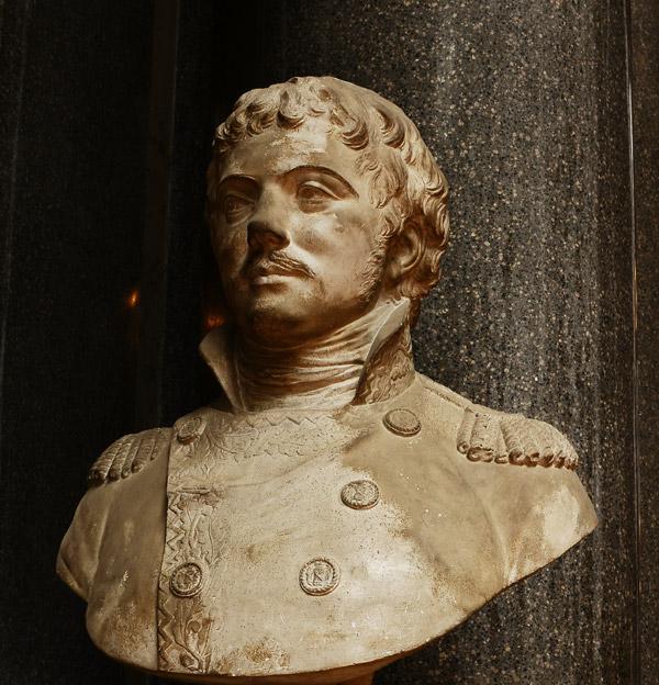 Amédée Laharpe, général de division. Félix Lecomte