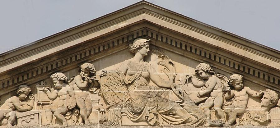 La Paix et les Beaux-arts. Pierre Loison.