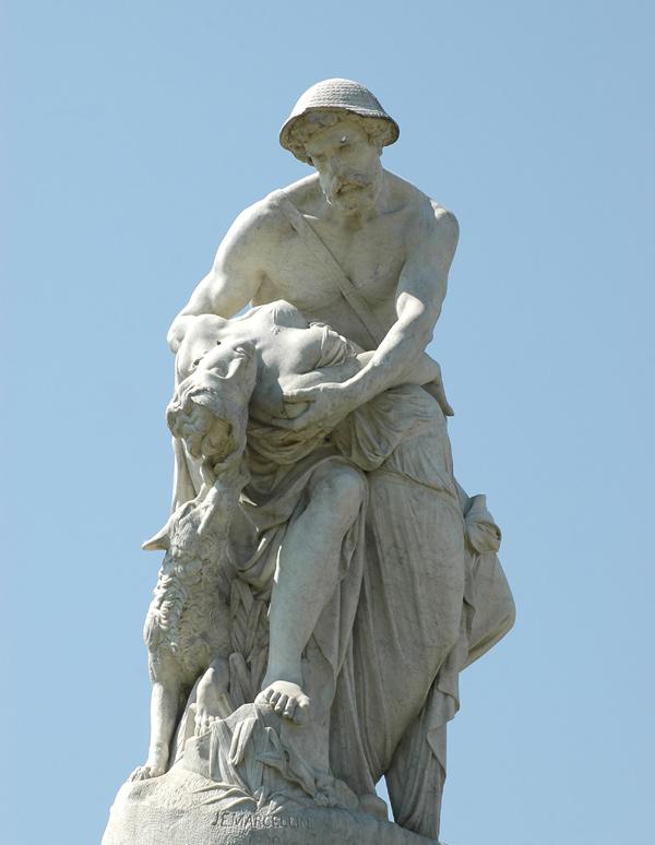 Zénobie et le corpx d'Araxe. Jean Esprit Marcellin