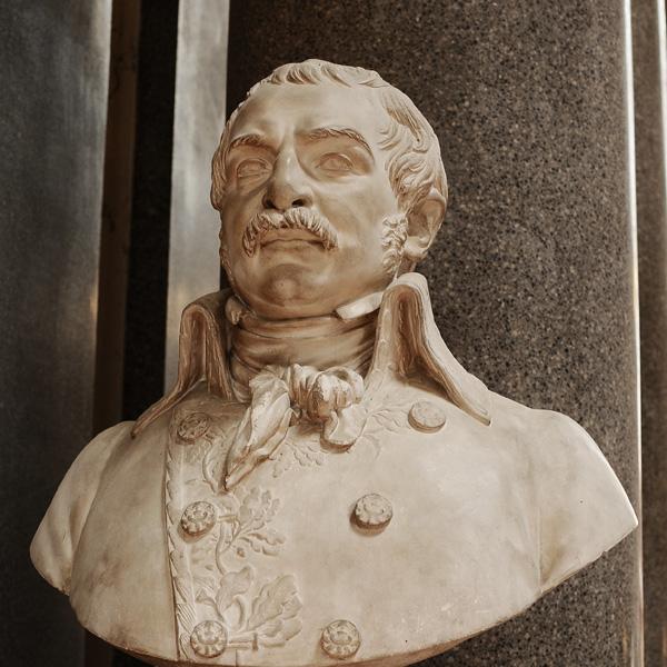 Dominique Martin Dupuy, général de brigade. Philippe Laurent  Rolland