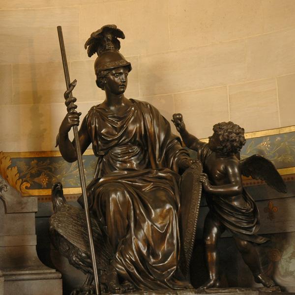 Monument Henri II. La Prudence. Jacques Sarazin.