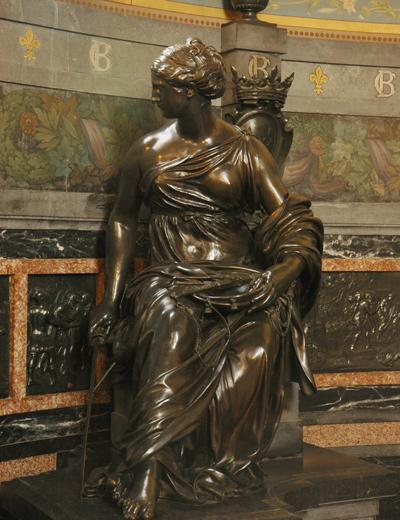 Monument Henri II. La Justice. Jacques Sarazin.