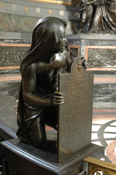 Monument Henri II. Garde. Jacques Sarazin.