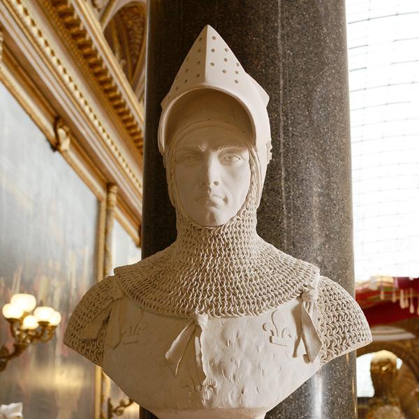 Hugues Quieret, amiral de France. Charles Emile Seurre, jeune