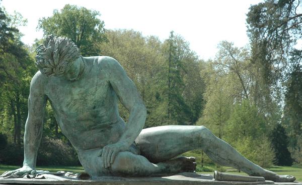 Le Gladiateur mourant. Jean Joseph Vinache.