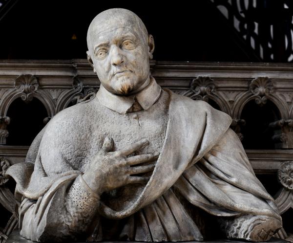 Cardinal de Bérulle. Michel Anguier.