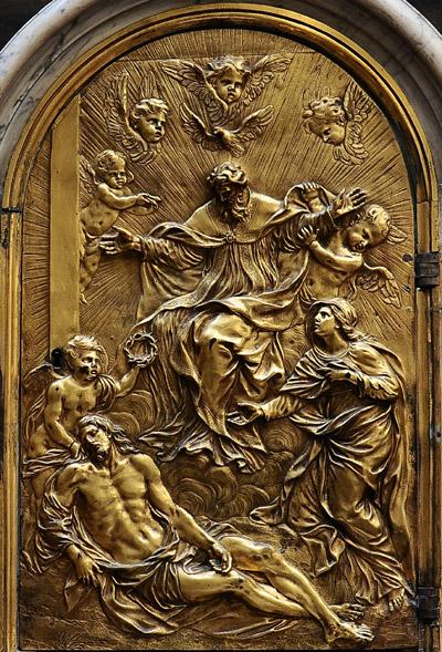 Descente du Christ. Anonyme.
