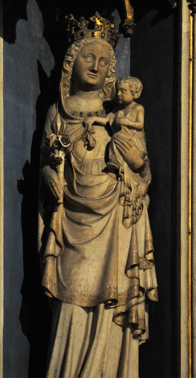 Notre Dame de la Consolation. Anonyme.