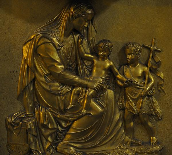 Marie et l'Enfant. Anonyme.