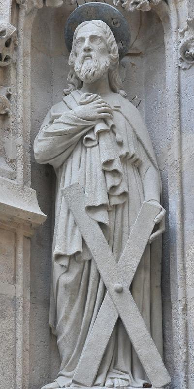 Saint André. Anonyme.