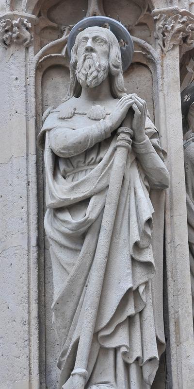 Saint Jacques le Majeur. Anonyme