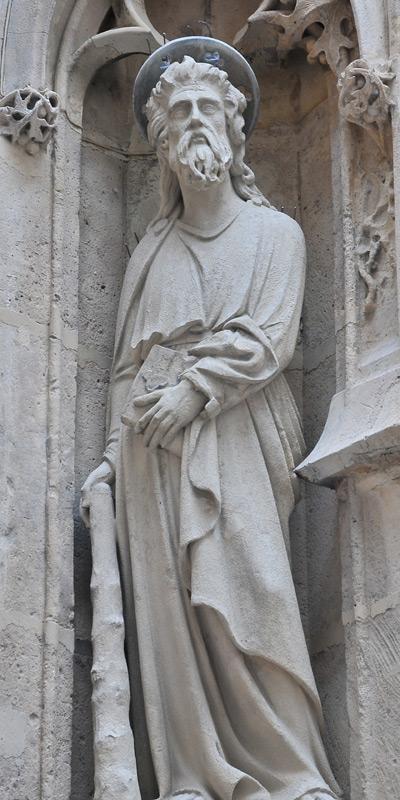 Saint Jacques le Mineur. Anonyme.