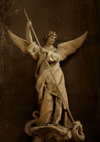 Saint Michel. Anonyme.