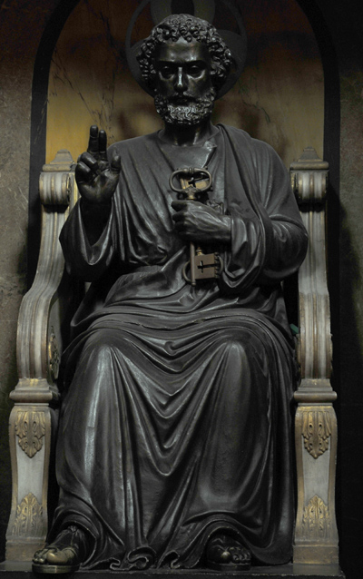 Saint Pierre. Anonyme.