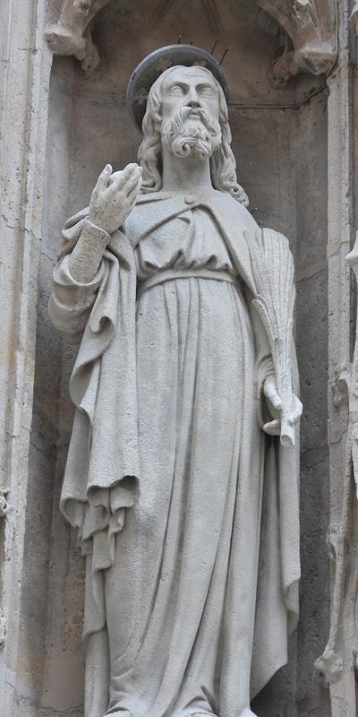 Saint. Anonyme.