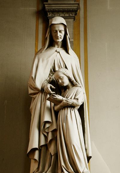 Sainte Bernadette. Anonyme.