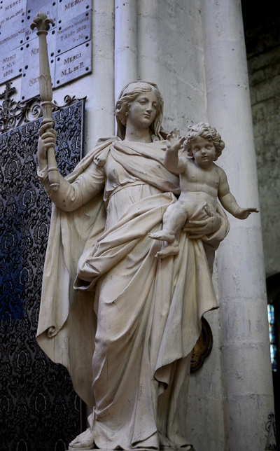 Vierge à l'Enfant. Anonyme.