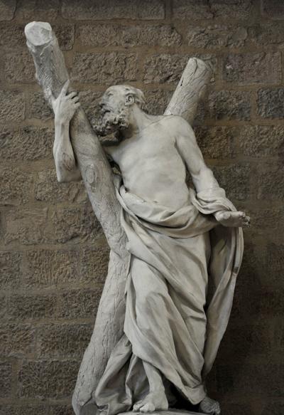 Saint André. Claude François Attiret.