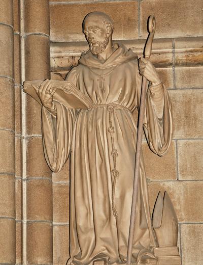 Saint Aubin. Jean Baptiste Barré.