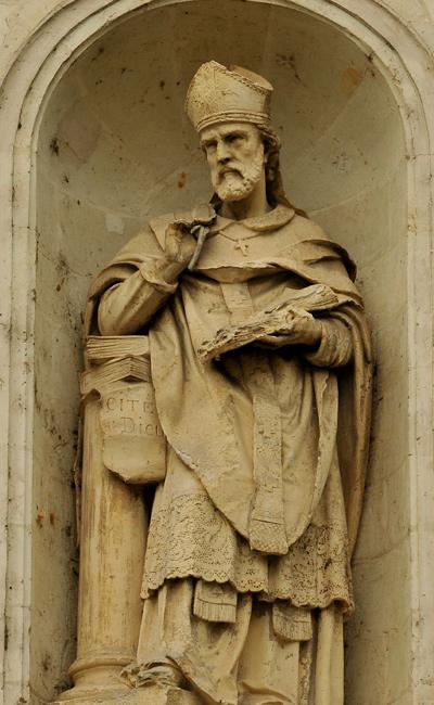 Saint Augustin. Jean Baptiste Barré.