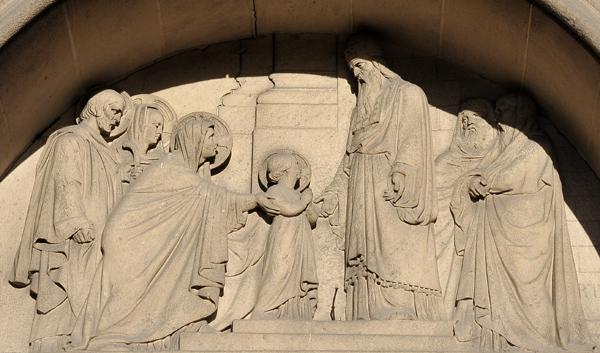 Présentation de la Vierge au Temple. Raymond Barthélemy.