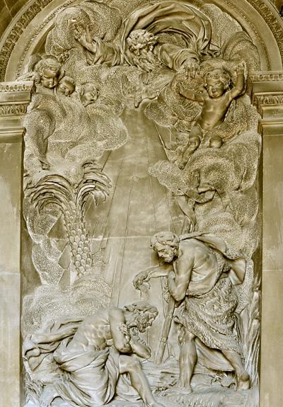 Le Baptême du christ. Simon Louis Boizot.