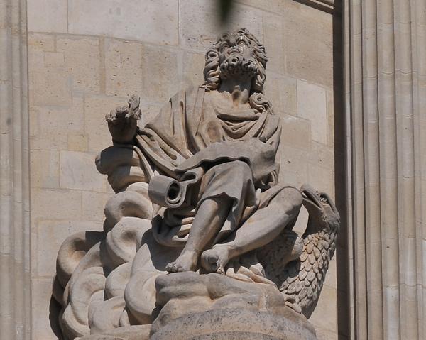 Saint Jean. Evangéliste. Simon Louis Boizot.