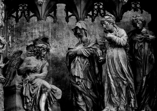 Les Sainte femmes au sépulcre. Thomas Boudin.