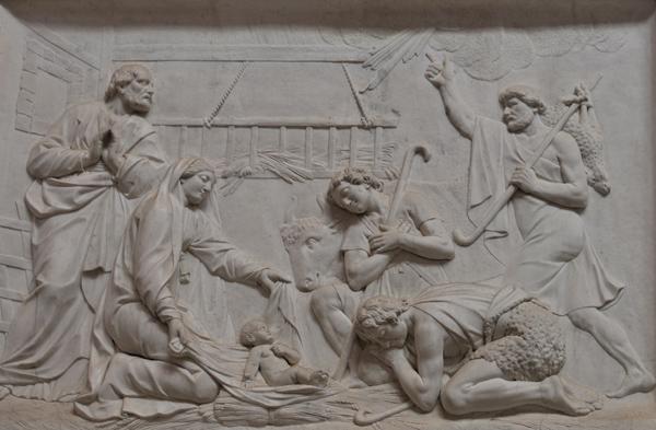 Adoration des Bergers. Charles Antoine Bridan.