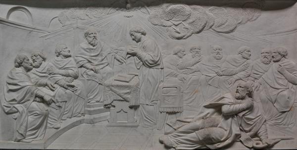 La Condamnation de Nestorius. Charles Antoine Bridan.