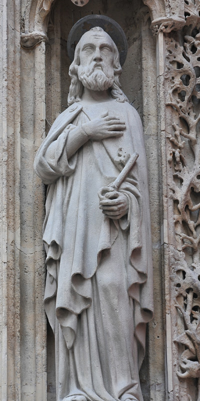 Saint Pierre. Joseph Brun.