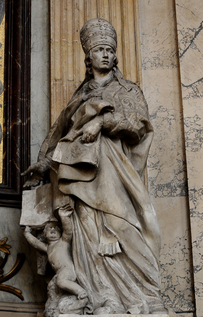 Saint Grégoire le Grand. Simon Challe.